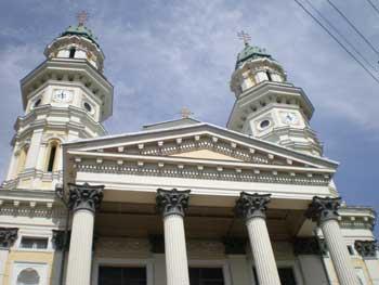 Ужгородський греко-католицький собор.