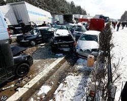 Крупнейшая авария в Чехии фото