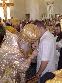 Награждены благотворители Свято-Покровского монастыря