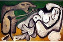 «Художник и его модель» Пабло Пикассо 1963 года.