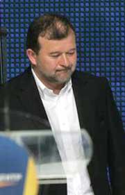 Глава Секретариата Президента Украины, экс-глава Закарпатской облгосадминистрации Виктор БАЛОГА.