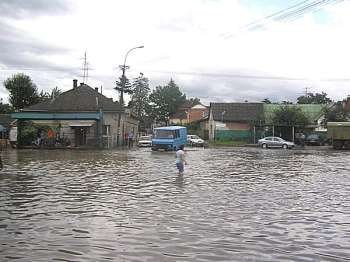 Ужгород : Радванке - гондолы! Фото Матєйка