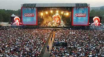 Будапешт ожидает на Sziget-2008.