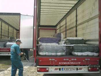 Закарпатье получило из-за границы 9 грузов гуманитарной помощи