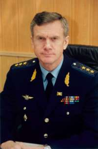 Briefing of deputy of chief of general staff of the Russian army
