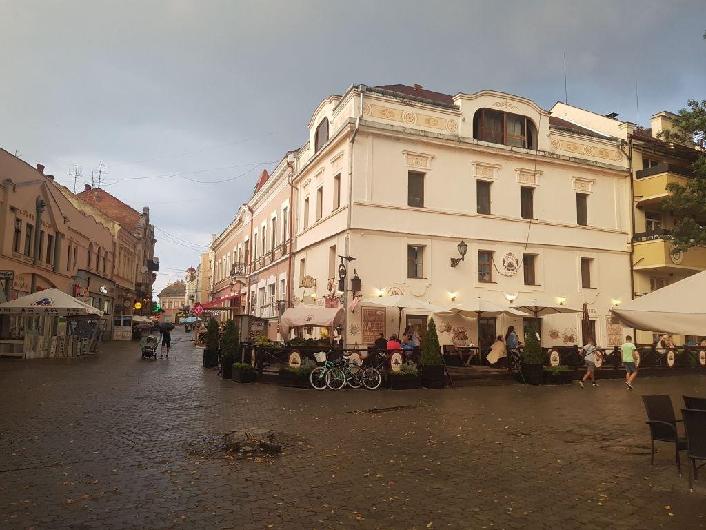 В Ужгороде пошел долгожданный дождь