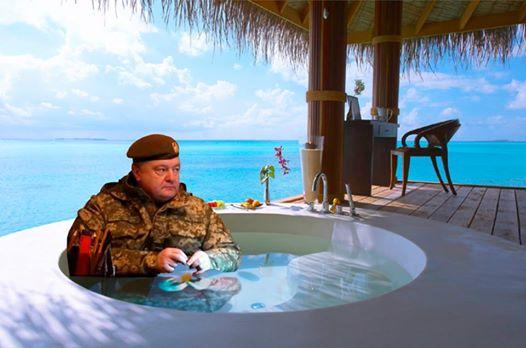 Порошенко на Мальдивах