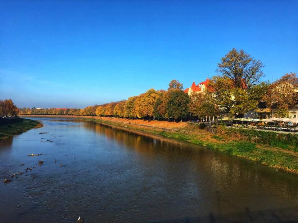 Ужгород осень октябрь