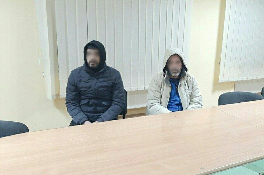 Возле Ужгорода пограничники наткнулись на двух странных друзей