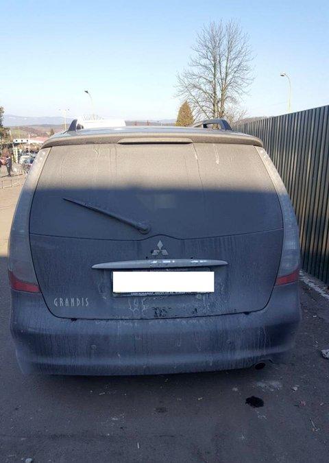 В Закарпатье на границе со Словакией задержали похищенное авто