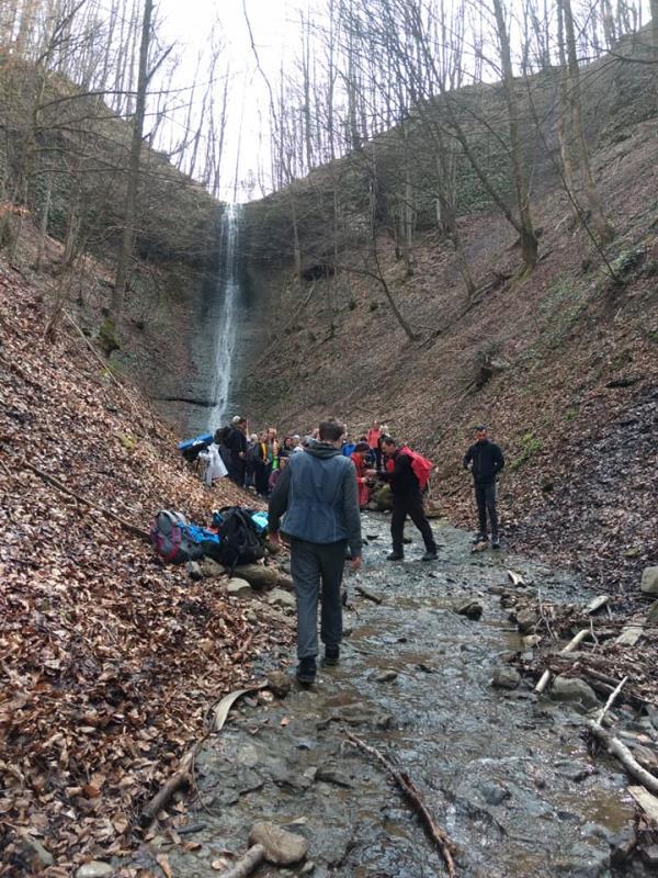 На Закарпатье есть уникальный водопад, исчезающий в теплые и сухие времена года
