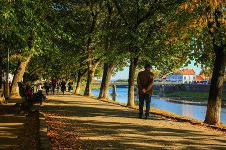 Ужгород. Міські осінні пейзажі просто вражають.