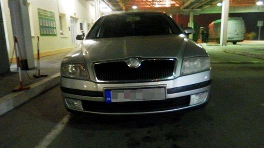 Мукачівські прикордонники виявили викрадений у Словаччині автомобіль.