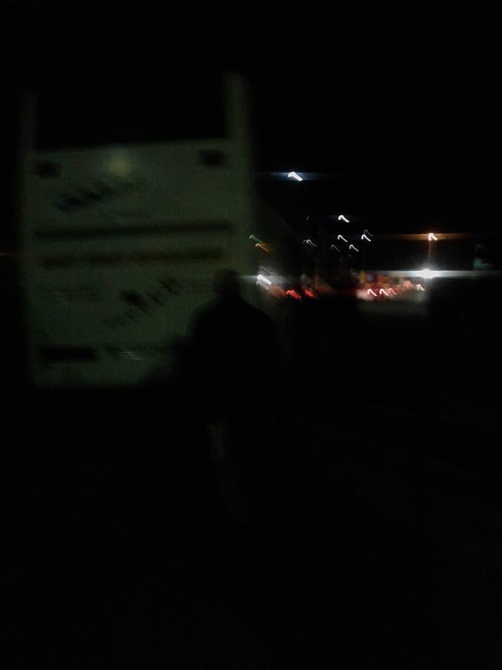 """""""Вся Україна їде. Перед нами в черзі було 7 автобусів..."""""""