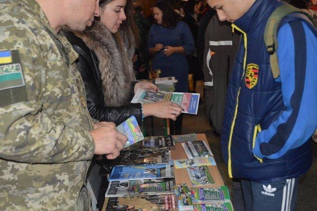 Мукачево. Зустріч прикордонників з випускниками шкіл