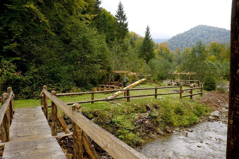 Закарпатське Вучкове відоме єдиним в Україні гейзером