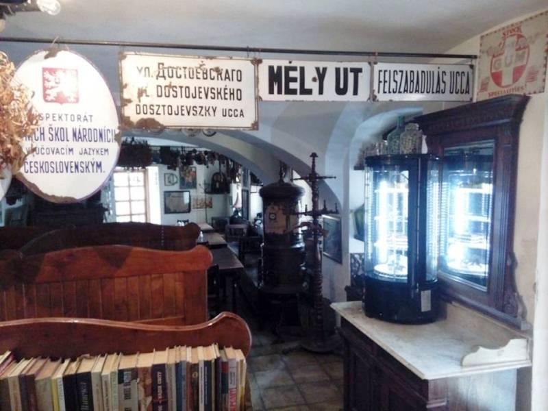 В Ужгороді хочуть відкрити виставку вуличних і будинкових табличок часів Австро-Угорщини та Чехословацької Республіки