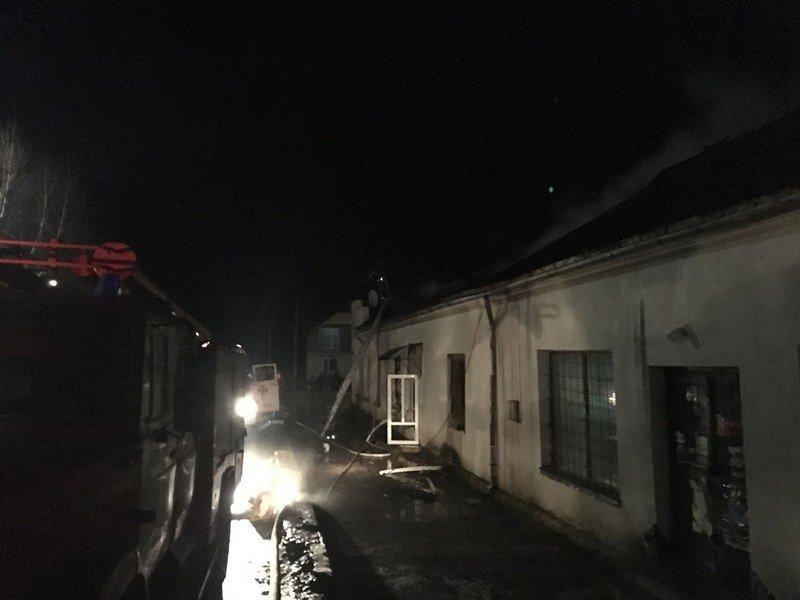 Іршавщина. Ввечері у Приборжавському спалахнув магазин