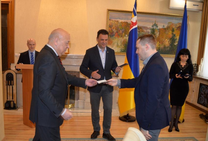 Закарпаття. Відзнаки «За розвиток регіону» — п'ятьом народнии депутатам України