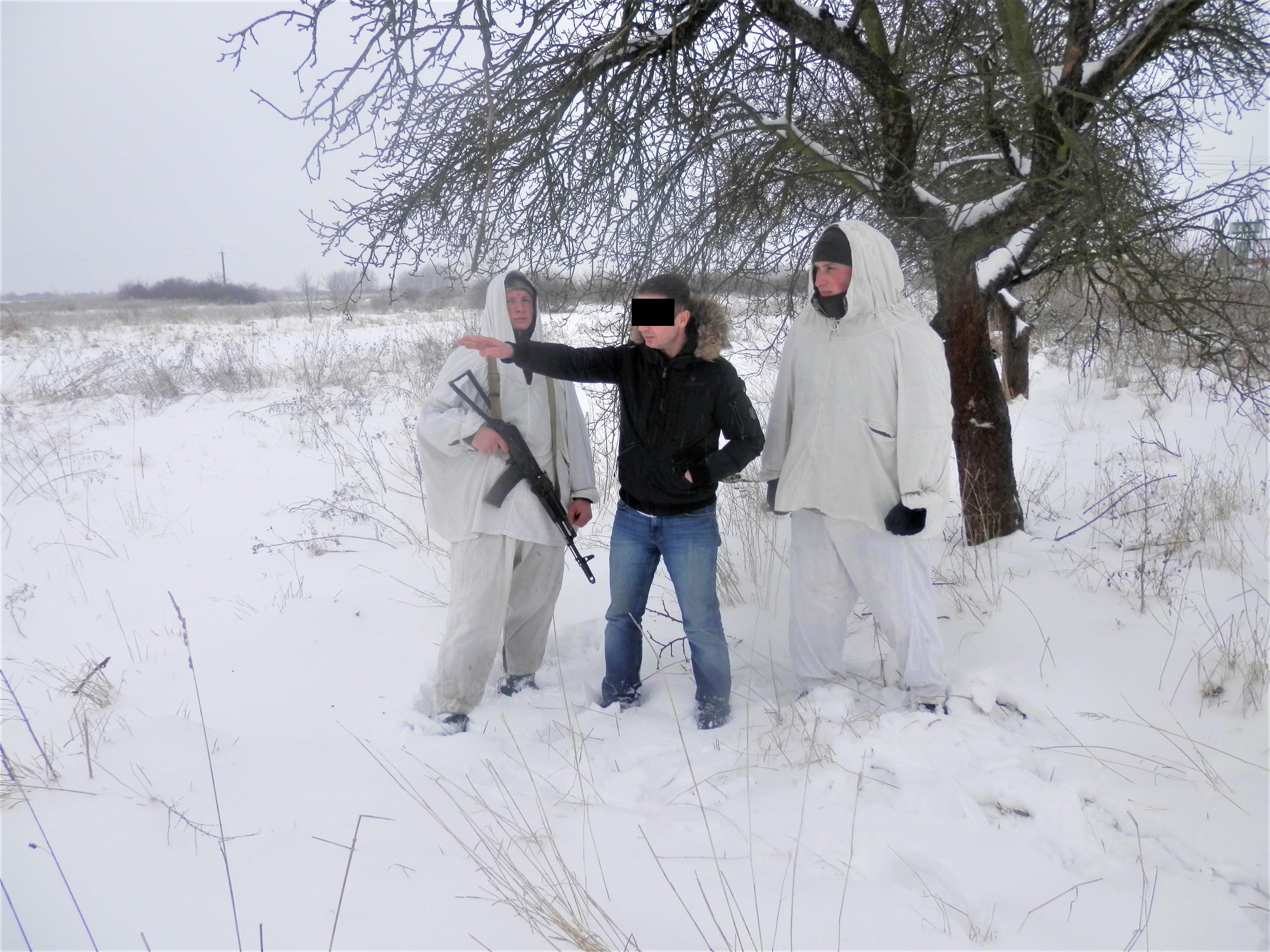 На кордоні з Угорщиною прикордонники затримали нелегала