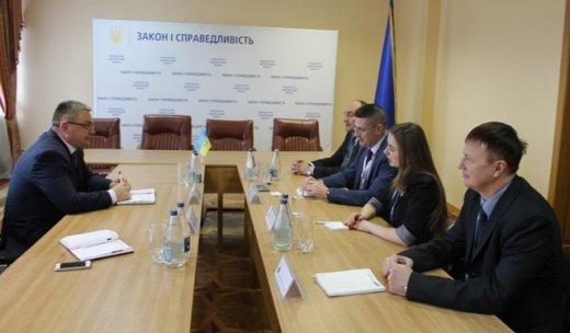 Прокурор Закарпаття обговорив з представниками ОБСЄ найрезонансніші ситуації
