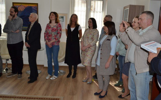 В Ужгороді презентували новий підручник словацької мови для студентів