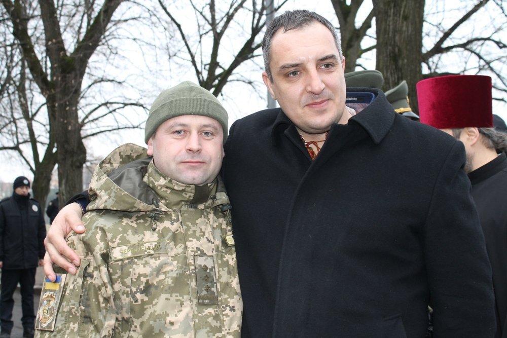 Голови Полтавської та Львівської облрад приїхали підтримати патріотичний дух закарпатців