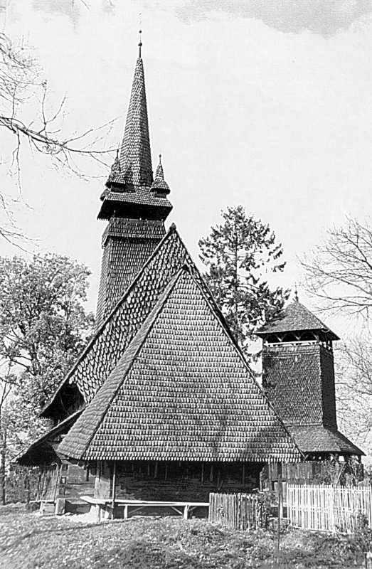 Сокирниця, Хустський р-н. Церква Св.Миколая XVII ст., 1704.