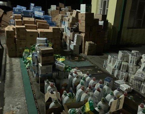 В Закарпатье киберполиция накрыла сеть по производству и продаже липовой бытовой химии