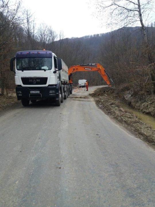 На Закарпатті розпочато ремонт обласної дороги, яка з'єднує Великоберезнянський та Перечинський райони