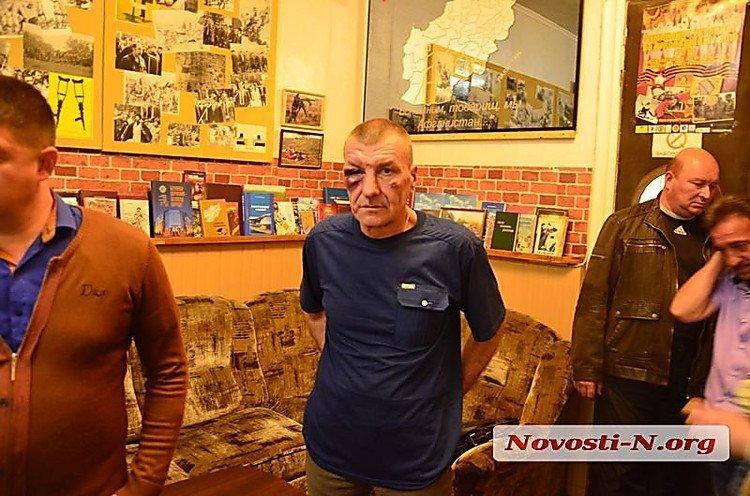 По всей Украине организации ветеранов Афганистана осудили нападение на офис
