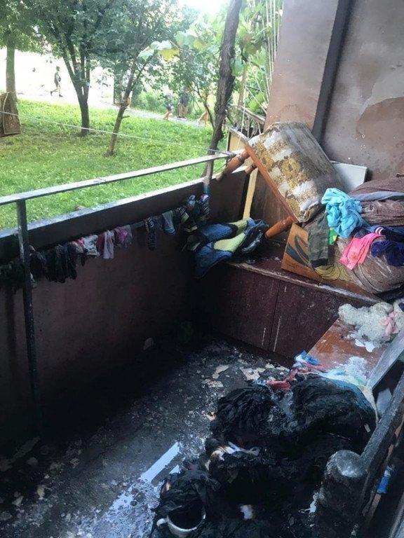 В Закарпатье трёхлетний ребёнок устроил страшный пожар