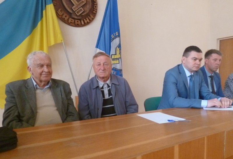 Ужгород. Збори ліквідаторів-чорнобильців відбулися у Будинку профспілок Закарпаття