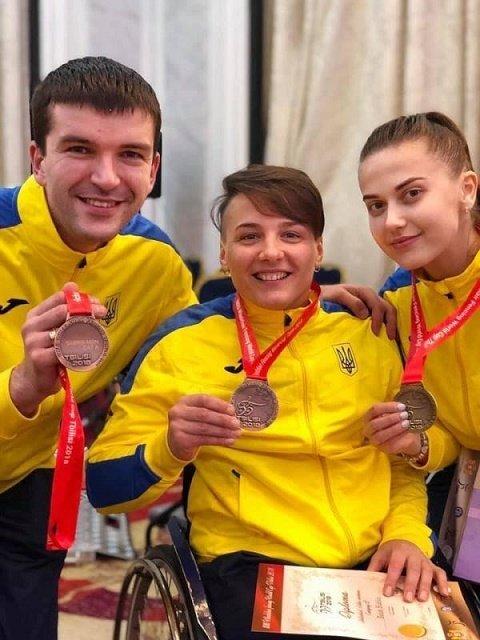 Закарпатка Надежда Дьолог завоевала бронзу
