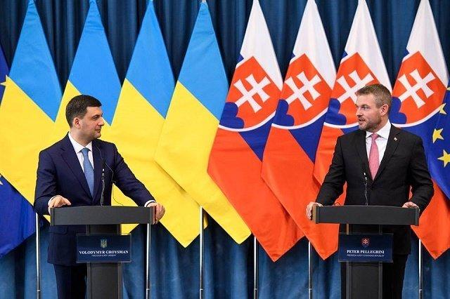 Украина и Словакия подписали ряд двусторонних договоров