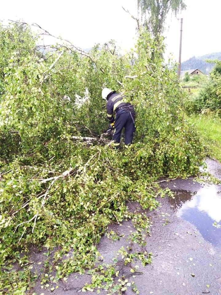 По всему Закарпатью ураганный ветер наделал беды