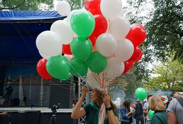 Ярмарка, виноделы, блюда и напитки венгерской кухни: В Ужгороде проходит фестиваль Hungary Fest