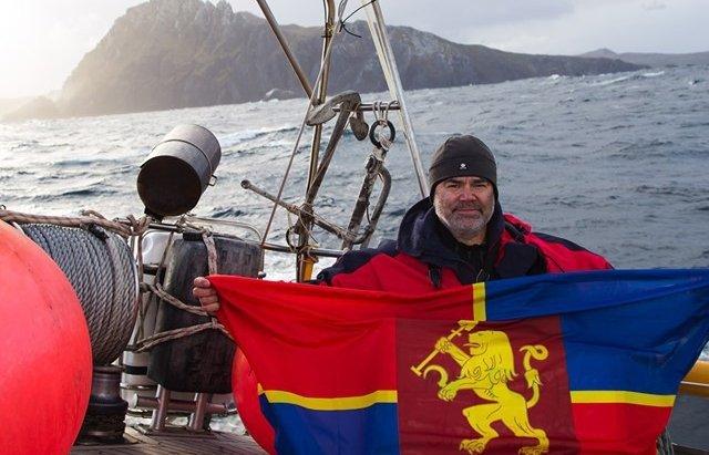 Найпівденніший пункт Латинської Америки прикрасив прапор із гербом закарпатського Виноградова