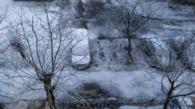 До зимы пару дней: В Закарпатье целое село за ночь накрыл снег
