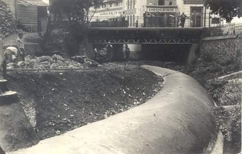 Ужгород. Мало хто із городян знає, що колись містом протікали дві річки — одна з них нині є підземною