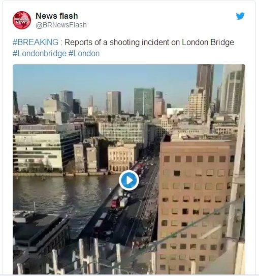 Через стрілянину люди втікали зі знаменитого Лондонського мосту