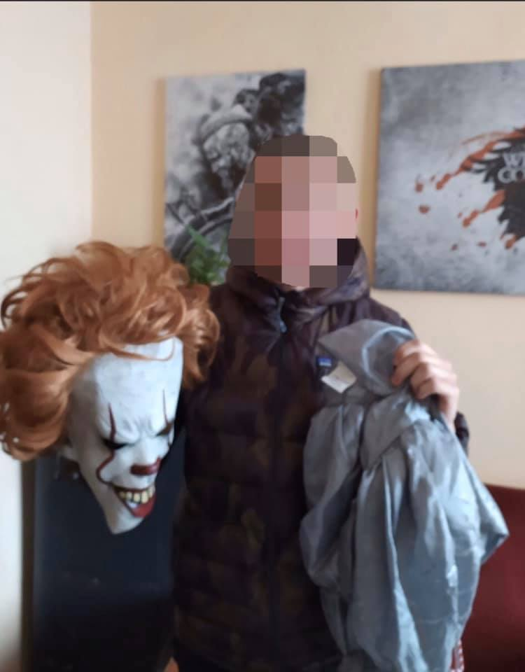 Поліція Закарпаття дізналася, ким є насправді страшний клоун Пеннівайз
