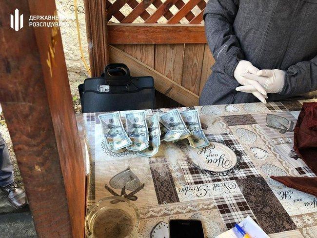 """Государственный охранник лесов Закарпатья за взятку продавал срубленные """"левые"""" дубы"""
