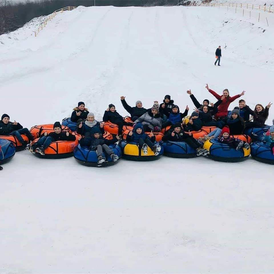 """Для дітей та дорослих Закарпаття активна зима стартувала з """"Воєводино"""""""
