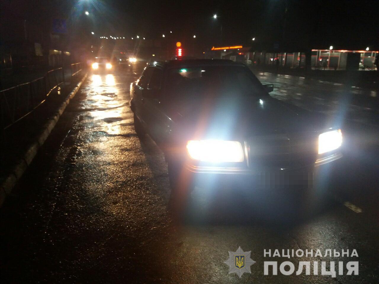 """У Мукачево """"Мерседес"""" збив жінку — жертва у реанімації"""
