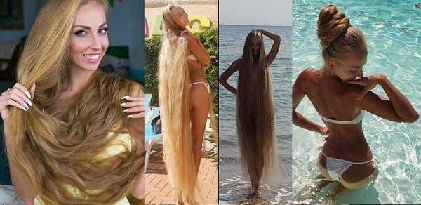 Красуня-одеситка, яка не стриглася 30 років, поділилася секретами догляду за таким довгим волоссям