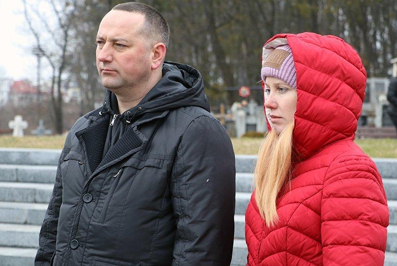 До Львова приїхали нацгвардійці, які вийшли живими з бійні під Дебальцево