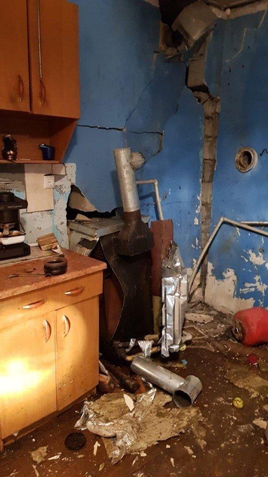 Вибух в Ужгороді мало не розніс житловий будинок на вулиці Прикордонній
