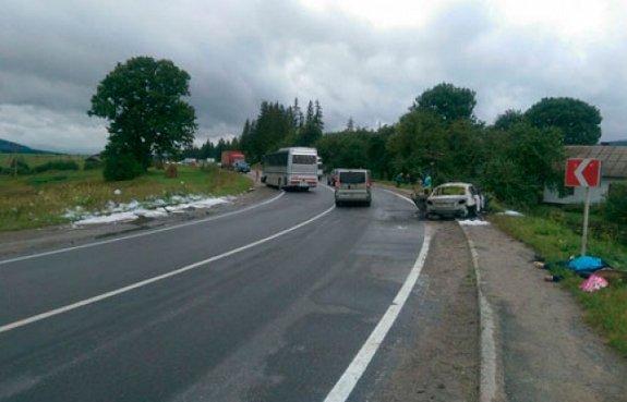 Сразу два ДТП на трассе Киев-Чоп забрало 4 жизни