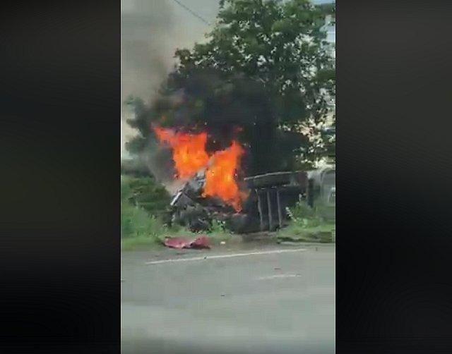 Смертельне ДТП на дорозі в Закараптті: загинуло троє з чотирьох членів родини футбольного тренера